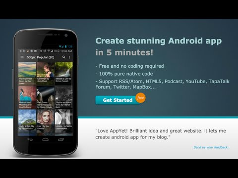 Appyet - Create Professional Looking Android App For Your Blog At No Cost