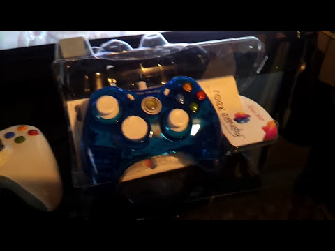 Rock Candy Xbox 360 controller review (blue)