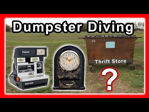 Dumpster Diving at Thrift Store #145