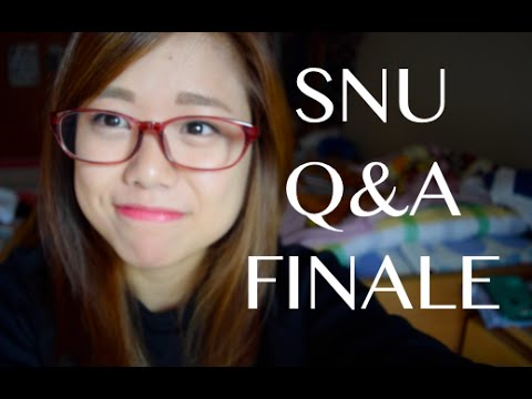 Scholarships, Majors in SNU, Grades, and More! | Seoul National University Q&A