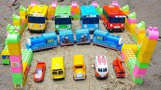 Download Thomas Train Transform Into the Hulk rescues Tayo The Little Bus | Excavator Bulldozer Dump Truck