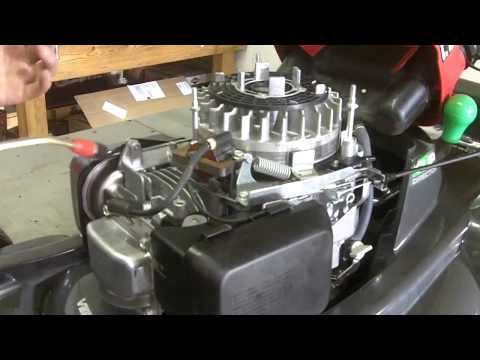 How To Clean the Air Vanes of Your Mower Engine