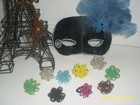 How to make Beaded Flower Rings Part 2