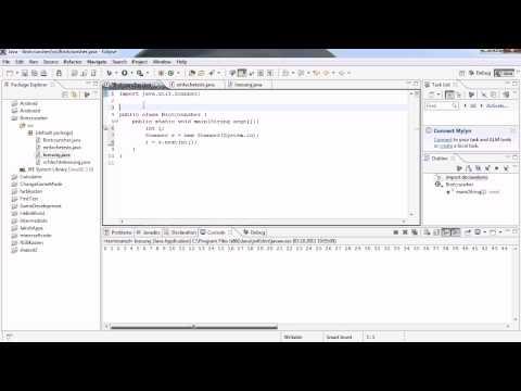 Java Tutorial 7 - Scanner, oder auch: Was der Benutzer will!