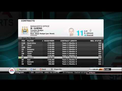 Fifa 12 Manager Mode Preview