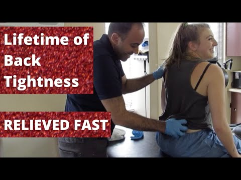 Lifetime of Back Tightness Relieved in Minutes