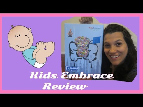 KidsEmbrace Justice League Baby Carrier| Review and Demo