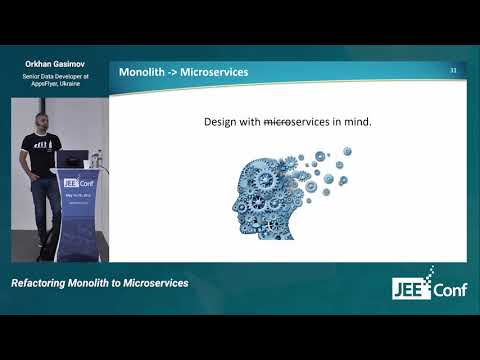 Refactoring Monolith to Microservices (Orkhan Gasimov, Ukraine) [RU]