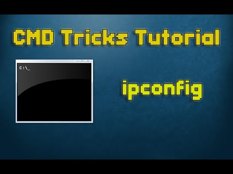 CMD Tutorial - 4 -  ipconfig | How to check IP Address using command prompt