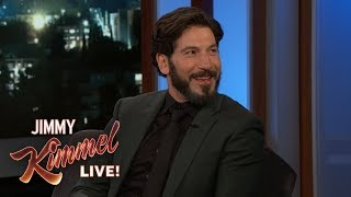 Jon Bernthal on Road Trip with Dad & The Punisher