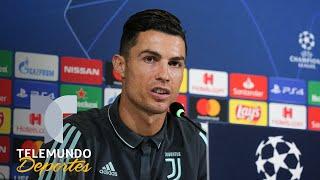 A Cristiano le preguntaron quién debería ganar el Balón de Oro y ¡se molestó!   Telemundo Deportes