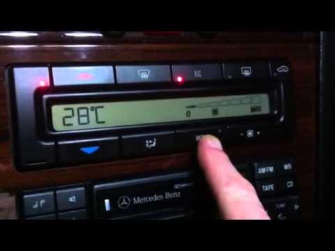 Easy battery alternator test..Mercedes Benz