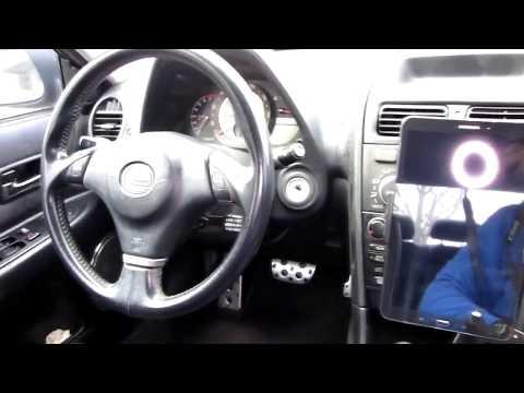 Universal Adjustable Car CD Slot Mounting Tablet Cell Holder Testing