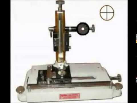 4. Measurements using the travelling microscope