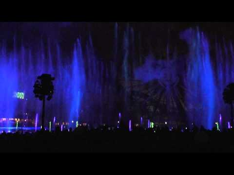 Disneyland Resort CGA New Years Eve 2011 Countdown in HD