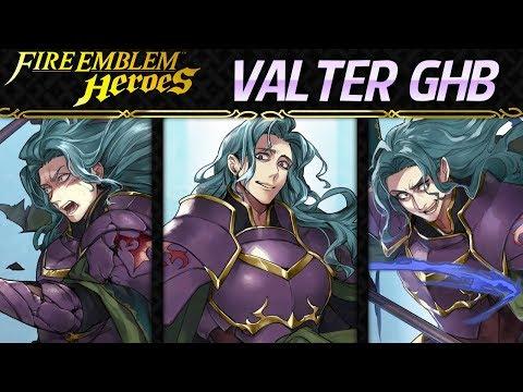 Fire Emblem Heroes - Grand Hero Battle: Valter INFERNAL+Lunatic F2P Units [3 Infernal Solutions]