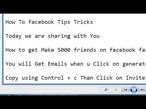 How to Get Make 5000 friends on facebook Fast in One Day 2014