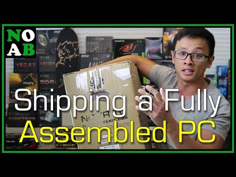 Safely Shipping a Fully Assembled PC
