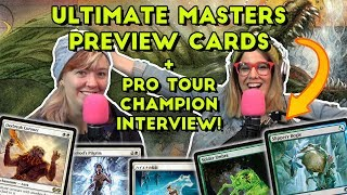 Glhf #304: Ultimate Masters Preview Cards, Interview W/ The Pro Tour Champ | Magic The Gathering