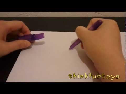 Invisible Ink Pen UV Light