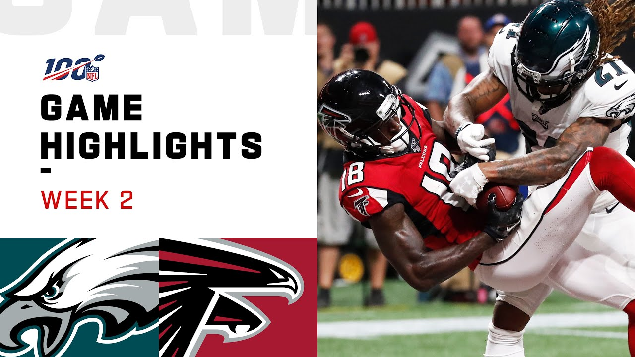 Eagles vs. Falcons Week 2 Highlights | NFL 2019