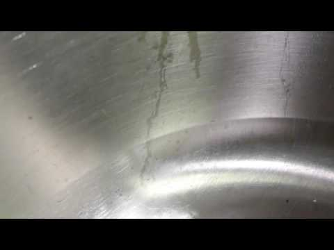 Stainless Steel Sink Chemical Stain