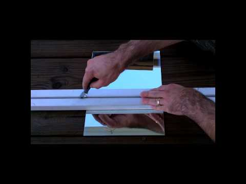 How to Cut a mirror