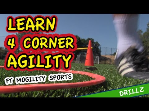 Learn 4 Corner Agility + FREE Session Plan