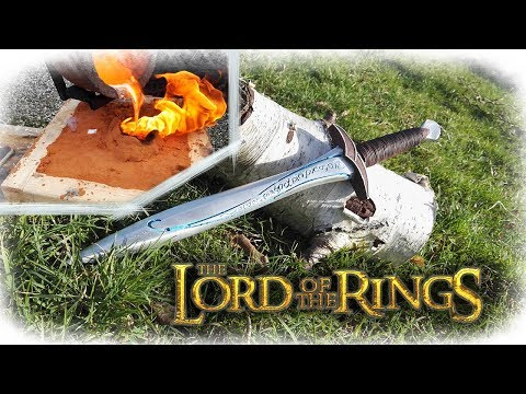 Casting The Hobbit Sting Sword (The Lord Of The Rings)