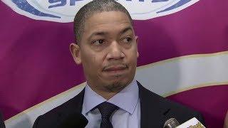 Tyronn Lue Postgame Interview / Cavaliers vs Pistons / Nov 20