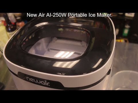 Newair AI-250W Portable Ice Maker Unboxing and Review - unboxing video