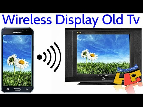 AnyCast How To Connect Smartphone To OLD TV LED TV HDTV