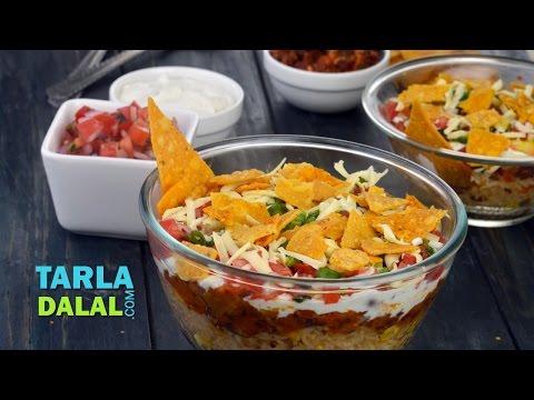 Burrito Bowl, Veg Burrito Bowl by Tarla Dalal