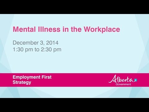 Accommodations at Work: What Employers can do for Employees with Mental Illness
