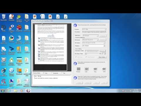 Plustek book reader OCR to a word document then using Claro Software