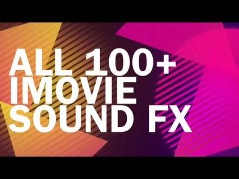 (Popular) All 100+ Apple iMovie Sound Effects!