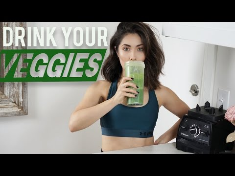 Green Smoothie for Better Skin (tastes good, promise) | Melissa Alatorre
