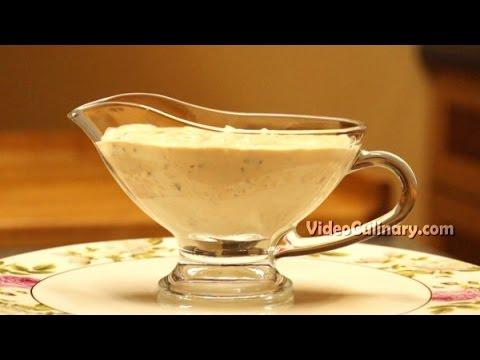 Thousand Island Salad Dressing Recipe - Video Culinary
