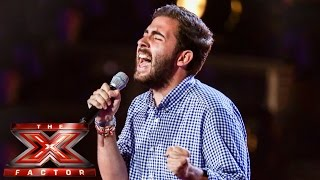 Andrea Faustini Sings I Didnt Know My Own Strength  Boot Camp  The X Factor Uk 2014