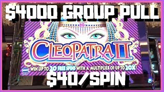 $4,000 GROUP Slot Pull ✦ $40/Spin ✦ Cosmopolitan in Las Vegas! 💃✦ Slot Machine w Brian Christopher