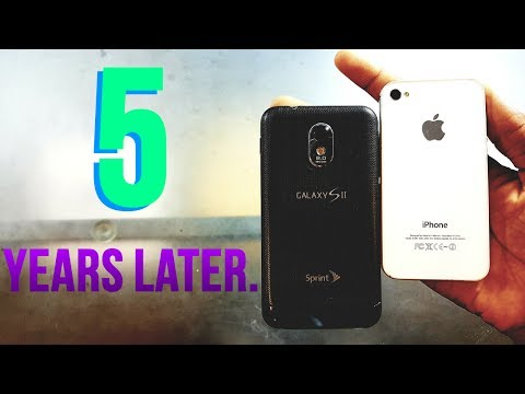 iPhone 4S vs Samsung Galaxy S2 Speed Test in 2017 - Who's Faster?