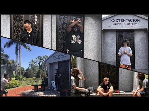 Xxx Mp4 Fans Flocking To XXXTentacion 39 S Grave On 1 Year Death Anniversary 3gp Sex