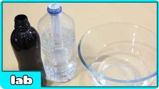 Magic Disappearing Water Science Experiment