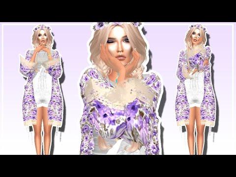 //Sims 4//CAS//Music Festival Collab W/ Crystal Simmer//Full CC List//
