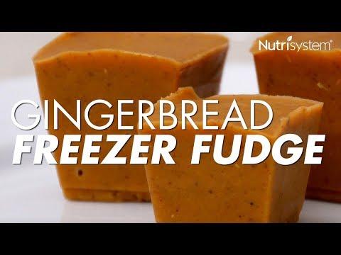 Gingerbread Freezer Fudge