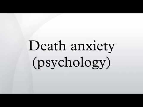 Death anxiety (psychology)