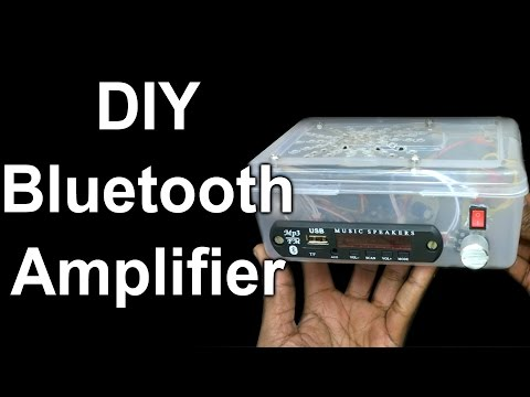 DIY Bluetooth Amplifier for Smartphones | Hindi Electronics | ELECTROINDIA