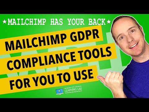 All MailChimp GDPR Compliance Tools Overview