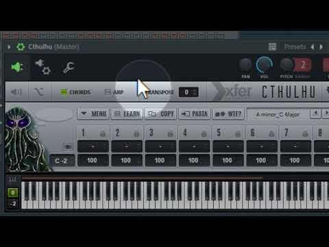 Easy Chord making VST-Cthulhu - Midi data Recording on FL studio-Hindi