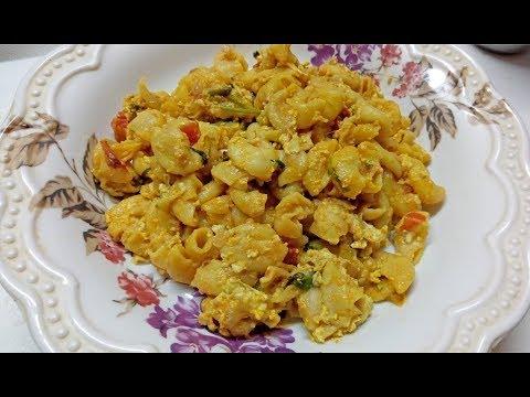 முட்டை வாசனை இல்லாத முட்டை மக்கரோனி நாளைக்கு டிபன் ல செஞ்சு குடுங்க|Egg Macaroni Pasta ரெசிபி